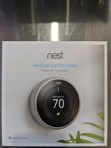 Nest learning thermostat t3007es
