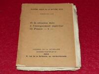 FERDINAND LOT - ENSEIGNEMENT EO 1906 Cahiers Quinzaine Péguy 1/16 WHATMAN