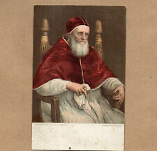 Art Card 1900's Misch and Co 1010 Pope Julius II by Raphael Gallery pitti BR2