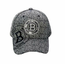 Robin Ruth Baseball Cap B Stamp Berlin New/Boxed Cap Hat Silver Grey Black