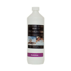 1 Litre Scale Away SCALE REMOVER Descaler - Hot Tub - Spa - Jacuzzi - Pool
