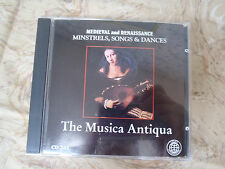 Medieval and Renaissance Minstrels, Songs, & Dances-The Musica Antiqua CD