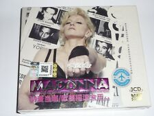 MADONNA DIAMOND MUSIC ASIA EDITION 3XCD MALAYSIA SET LOT RARE MADAME X