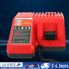 18V Chargeur batterie lithium Remplacement pour Milwaukee Li-ion Battery M18 EU
