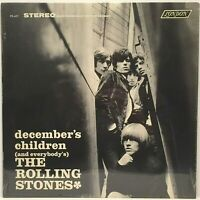 THE ROLLING STONES DECEMBER'S CHILDREN ORIG 1965 1ST PRESS VINYL LP STILL SEALED