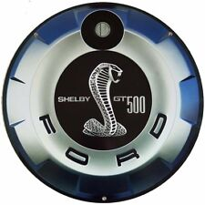 """Shelby Gt 500 22"""" Round Gas Cap Metal Sign"""