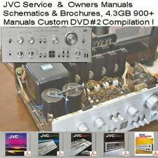 JVC Service Manuals & Owners, Amplifier Receiver Tuner,  Audio Repair  DVD # 2