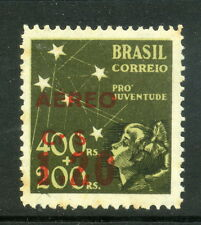 1944 Brazil SC C59 | MI 657 MH Mint - 1.20cr on 400r+200r, Pro Juventude*