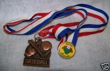 Baseball Brass Metal Award Westview Invitational Pin