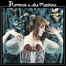 Florence + the Machine / Lungs (CD) Leo Abrahams, Stephen Mackey, Rob Ackroyd !!