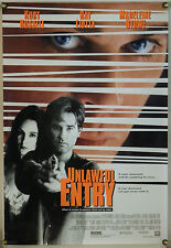UNLAWFUL ENTRY DS ROLLED ORIG 1SH MOVIE POSTER KURT RUSSELL RAY LIOTTA (1992)