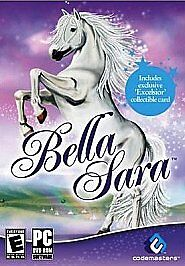 Bella Sara (PC 2008) PC-CD Rom for Girls Video Game complete  with card