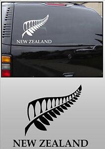 NEW ZEALAND  KIWI FERN CAR WINDOW STICKER DECAL