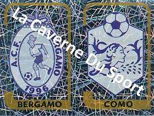 N°721 SCUDETTO ITALIA ACF.BERGAMO - COMO STICKER PANINI CALCIATORI 2004