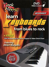 Learn to Play EASY BEGINNER Keyboard Blues to Rock Tutor LESSON DVD Notes Chords
