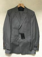 "Paul Smith LONDON Grey Striped  2 btn Single Breasted ""Willoughby"" Suit"