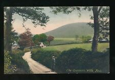 Somerset WILL'S NECK The Quantocks Used 1907 PPC by Frith