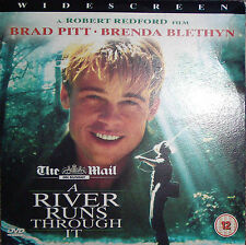 A RIVER RUNS THROUGH IT. Brad Pitt, Brenda Blethyn. Promo DVD