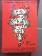 ANCIEN Almanach Vermot 1974