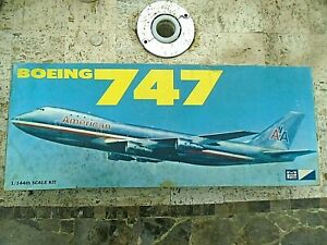 MPC Boeing 747 1/144 Scale Model Kit 3300 Made in England