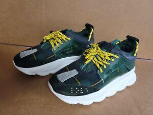 Men's Versace Chain Reaction shoes sz 42 US sz 9