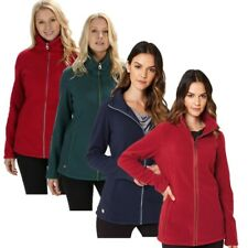 REGATTA LADIES FAYONA FULL ZIP FLEECE JACKET RED GREEN or NAVY RWA323