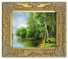Gemälde Natur Handarbeit Ölbild Bild Ölbilder Rahmen Bilder G16118
