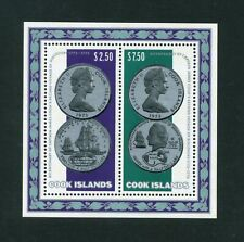 More details for cook islands 1972 cook's 2nd voyage of discovery sg ms494  mnh / umm   sale