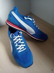 Mens Puma Blue Lightweight Running Trainers Size UK 9 EU 43