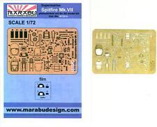 Marabu Models 1/72 SUPERMARINE SPITFIRE Mk.VII Photo Etch Detail Set