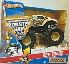 Hot Wheels 2012 Monster Jam Truck Rev Tredz 1:43 POUNCER W2503