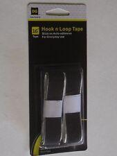 HOOK & LOOP FASTENERS SET BLACK 3/4