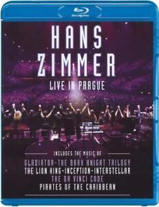 HANS ZIMMER: LIVE IN PRAGUE [NEW BLURAY]