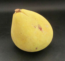 Vintage Italian Alabaster Stone Fruit - Yellow Pear