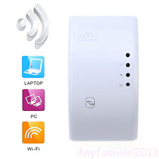 300Mbps Wireless Internet Wifi Router AP Repeater Wall Extender Booster GA