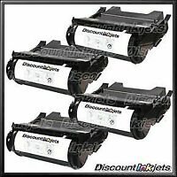 4PK 64415XA for Lexmark T644 BLACK Extra High Yield Toner Cartridge T644dtn T644