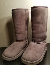 UGG Kids Youth Classic Tall Boots Gray Size 1