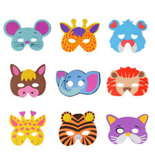 Cute Kids Cartoon Masks Children EVA Christmas Party Performance Mask Toys Gift