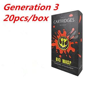 High Quality Original BIGWASP V3 Cartridge Needle 9 Round Shader (9RS) 20Pcs/Box