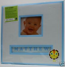 K&Company 12x12 Blue Lion Sleeps Personalize Frame Your Name Scrapbook Album