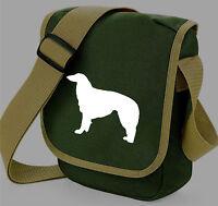 Borzoi Bag Russian Greyhound Dog Walker Shoulder Bags Birthday Gift