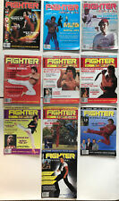 Vintage Fighter International Martial Art Magazines 10 Issues Guardian Angels
