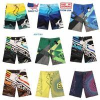Mens Summer Beach Board Shorts Surf Sport Swim Wear Trunks Pants Swimsuit 30-38