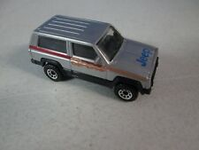 Matchbox Jeep Cherokee Silver MB27 with box