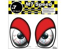 MINI Cooper R50-R53 Underhood Eye Decal Set- Red Eyelids
