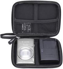 Aproca Hard Travel Storage Case For Canon Powershot Elph 180 Digital Camera (Gre