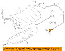 SUBARU OEM 13-15 BRZ Hood-Lock Latch 57310CA010