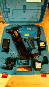 BEA Gasnagler D90-660 E, mit Koffer, Ladegerät und 3 Akkus, Beschreibung lesen