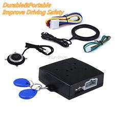 12V Keyless Entry Car Engine Push Start Button RFID Lock Ignition Starter Alarm