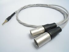 Dyson Audio Silver OCC Balanced 3.5mm TRRS XLR Hifiman Walkman GeekOut V2 Cable